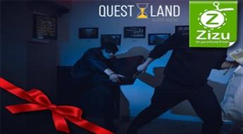"""Kvests """"BANKAS LAUPĪŠANA"""" no """"Quest land"""" kompānijai"""