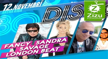 """Biļetes uz koncertu-diskotēku """"Disco 80's"""" """"ARĒNĀ RĪGA"""", sākot no € 13!"""