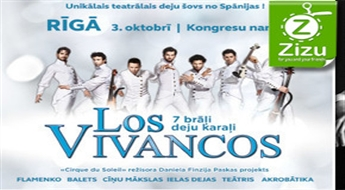 """Izrāde-šovs """"Aeternum"""" (""""Mūžība"""") leģendārā Spānijas deju kolektīva LOS VIVANCOS izpildījumā, sākot tikai no € 26,9!"""