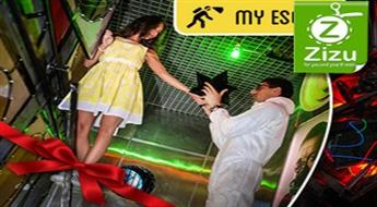 """Escape spēle """"GORDONS PRET E-CORP"""" no MyEscape.lv kompānijai līdz 6 cilvēkiem"""