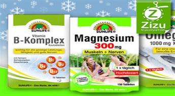 Рыбий жир, магний или комплекс витаминов группы В от «SUNLIFE», начиная всего от 4,7 €!