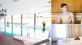 """SĀREMĀ SALA: Atpūta DIVIEM (1 vai 2 naktis) ar neierobežotu ūdens centra apmeklējumu dizaina SPA viesnīcā """"Johan SPA"""", sākot tikai no ˆ€ 53!"""