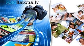 50 vai 100 fotogrāfiju izdruka + fotoalbums no Fotobarons.lv, sākot tikai no € 5,5. PIEGĀDE visā LATVIJĀ!