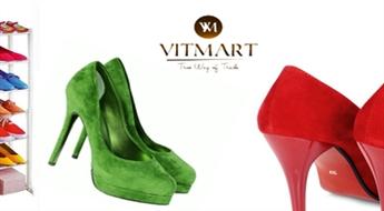 Kompakta un praktiska apavu plauktu sistēma (30 pāriem) tikai par € 9. PIEGĀDE visā LATVIJĀ!