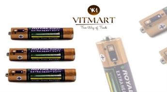 AA tipa bateriju komplekts (12 gab.) tikai par € 2,2. PIEGĀDE visā LATVIJĀ!
