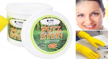 """Universālā pasta """"Putzh Stein"""" (1 kg) dažādu virsmu tīrīšanai un pulēšanai tikai par € 8,9. PIEGĀDE visā LATVIJĀ!"""