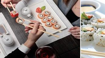"""CAPTAIN SUSHI: suši sets """"Big Tasty"""" (88 gab.) ar 50% atlaidi!"""