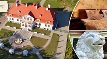 """MUIŽA LATGALĒ: atpūta diviem 4* viesnīcā """"Sventes muiža"""" ar brokastīm, dzirkstošo vīnu un iespēju apmeklēt kara tehnikas muzeju (tanku muzejs) ar 40% atlaidi!"""