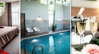 """SIGULDA: Atpūta DIVIEM (1 nakts) viesnīcā """"Sigulda"""" ar romantisku atmosfēru numurā, brokastīm un peldi baseinā"""