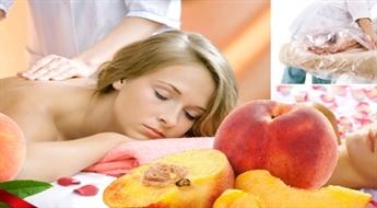 Juteklisks persiku SPA rituāls ķermenim