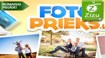 100 vai 50 fotogrāfiju izdruka 10x15 cm izmērā uz matēta vai glancēta papīra, sākot no € 5,5 (Ls 3,87). BEZMAKSAS PIEGĀDE visā Latvijā!