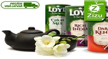 Loyd ekskluzīvā tēju kolekcija: Chun mee, Dark Kenya, Rich India vai to komplekts, sākot no € 2,8 (Ls 1,97). Piegāde VISĀ LATVIJĀ!
