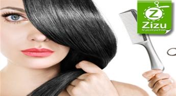 Pilns komplekss neatkārtojamam matu skaistumam ar atlaidi līdz 65%. Griešana, krāsošana, veidošana un hromoenerģētiskais komplekss Luxury matu veselībai vai ekranēšanas procedūra Q3 THERAPY!