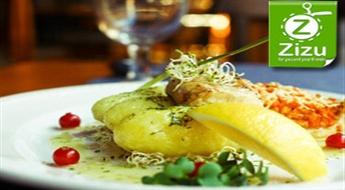 """Pilnīgi visi ēdieni un dzērieni no labākā zivju restorāna """"Zvejnieka Dēls"""" ēdienkartes ar 50% atlaidi!"""