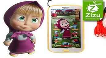 """Interaktīva attīstošā 3D rotaļlieta – viedtālrunis """"Maša un Lācis"""" pirmsskolas izglītošanai tikai par € 7,9. Piegāde VISĀ LATVIJĀ!"""