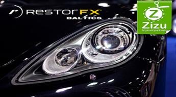 Lukturu atjaunošana pēc jaunās unikālas metodikas RestorFX bez pulēšanas ar 50% atlaidi!