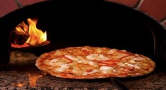 """Īstā malkas krāsnī cepta itāļu pica """"Portofino"""" picērijā -50%"""