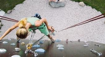 Klinšu kāpšanas apmācība Gandra alpīnisma tornī -50%