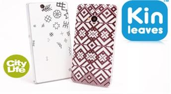 Kin Leaves: ādiņa jeb skins mobilajam tālrunim -40% Bezmaksas piegāde visā pasaulē!