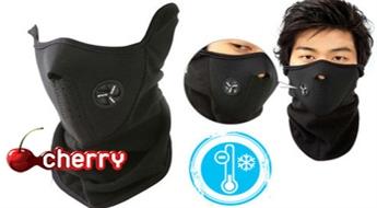 Ideāla aizsardzība pret aukstumu un vēju! Sejas maska -42%