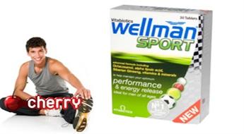 Витамины Wellman Sport