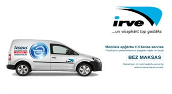 Mobilā apģērbu tīrīšanas servisa pakalpojumi Rīgā un Rīgas rajonā -40%