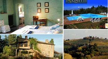 3 naktis diviem romantiskā viesnīcā Itālijas laukos + uzkodas -52%