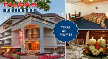 Nakšņošana DIVIEM viesnīcā Palangas centrā + brokastis + atlaide restorānā