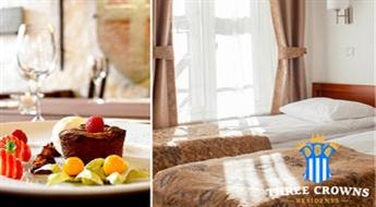 Atpūtas pakete diviem viesnīcā Three Crowns Residents Tallinā