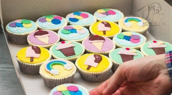 Cupcake (kapkeiku) dekorēšanas meistarklase bērniem (04.06)