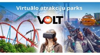 Virtuālo atrakciju parka VOLT apmeklējums