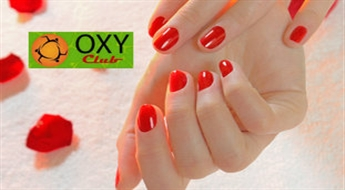 Oxy Club: manikīrs ar Gelish -41%