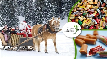 """Jauni Rakursi: ciemos pie Ziemassvētku vecīša Ziemupē un """"Gotiņas"""" – Saldū (15. decembris) -41%"""