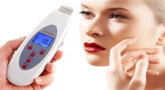 Ultraskaņas ierīce sejas tīrīšanai LCD Skin Cleaner no skaistumkopšanas kabineta VISS SKAISTUMAM -55%