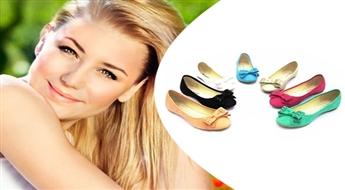 """Tavas vasaras ērtākais un stilīgākais """"ceļabiedrs"""": vieglas dažādu krāsu laiviņtipa kurpes -44%"""