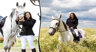 Zirgu fanu klubs ĪRISS: individuālā jāšanas apmācība vai izjāde pa manēžu, mežu vai jūras krastu (1 h) līdz – 53%