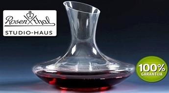 Īstiem vīna cienītājiem! Izsmalcināta karafe no kristāla (1,5 l) -57%
