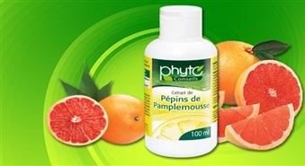 Francijas greipfrūtu sēklu ekstrakts ar C vitamīnu (100 ml) Tavai veselībai -67%