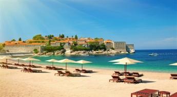 Melnkalne - Aviotūre uz Budvu vasarā