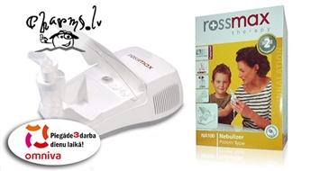 Ингалятор Rossmax NA100 с компрессором для лечения респираторных заболеваний.