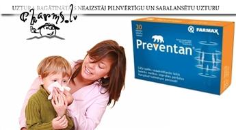 FARMAX: Preventan® Classic - profilaksei gripas un saaukstēšanās laikā.