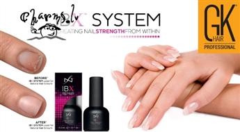 IBX System- profesionālā  procedūra novājinātiem un bojātiem nagiem Klassiska manikīrs + IBX+ Gelish