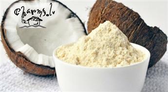 500 g kokosriekstu organisko biomiltu bez glutēna - veselīgam uzturam