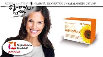 FARMAX: MenoMax N60 - dabiskam līdzsvaram menopauzes laikā un pēc tās
