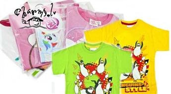 Bērnu krekli ar jautrajiem zīmējumiem: dažādi modeļi, krāsas