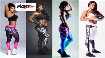 Kā otra āda! Leģendārie sieviešu SIX DEUCE fitnesa legingi dažādos modeļos un izmēros
