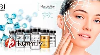 """Vecrīga: Biorevitalizācija """"Gigi MesoActive"""" sejas ādas korekcijai salonā """"Bellezza"""""""