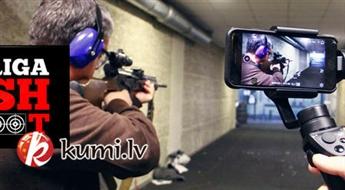 Šaušana ar militārajiem kaujas ieročiem Rīgā