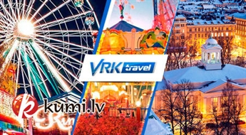 VRK Travel: Brauciens uz Helsinkiem ar iespēju apmeklēt Okeanāriju, atrakciju parku un Helsinku zoodārzu