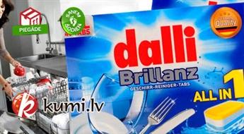 Tabletes trauku mazgāšanas mašīnām DALLI BRILLIANZ (40 gab.)